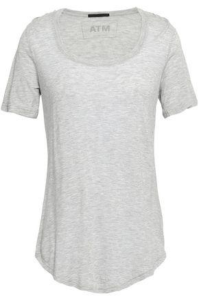 ATM ANTHONY THOMAS MELILLO Mélange modal-jersey T-shirt