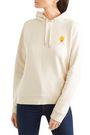 GANNI Lott Isoli embroidered cotton-jersey hooded sweatshirt