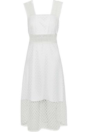 Etta Guipure Lace Midi Dress by Sandro