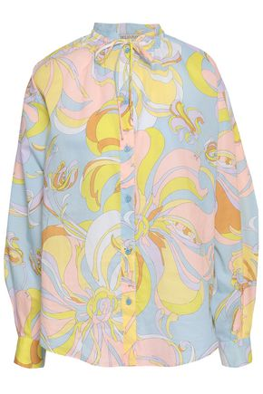 3cd4e2b90459 EMILIO PUCCI Printed silk shirt