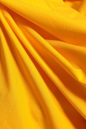 EMILIO PUCCI Bow-detailed cotton-poplin top