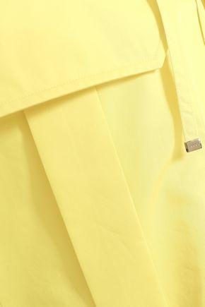 EMILIO PUCCI Lace-up cotton-poplin blouse