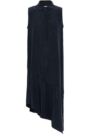 EQUIPMENT Tira asymmetric washed-silk shirt dress