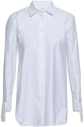 EQUIPMENT Essential cotton-poplin shirt
