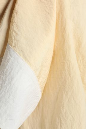 EMILIO PUCCI Two-tone silk-blend shirt
