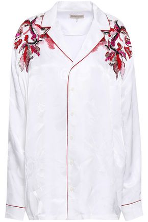 エミリオ プッチ 装飾付き ジャカード シャツ