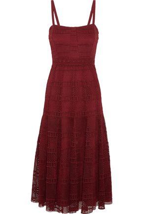SANDRO Mado guipure lace midi dress