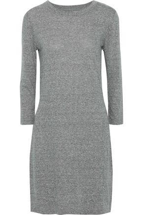 CURRENT/ELLIOTT Mélange jersey mini dress