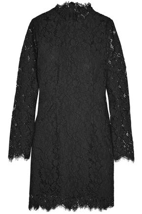 GANNI Jerome corded lace mini dress