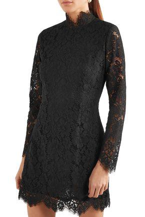 GANNI Jerome corded lace mini dress