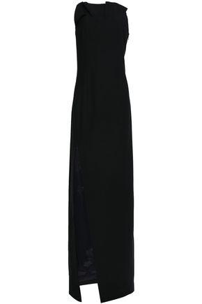 CINQ À SEPT Ruffle-trimmed ponte gown