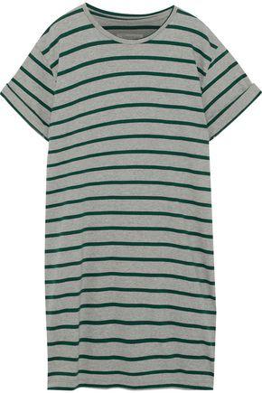 CURRENT/ELLIOTT The Sailor striped stretch-cotton jersey mini dress