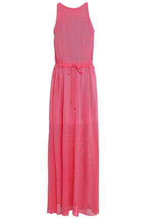 EMILIO PUCCI Pointelle-knit maxi dress