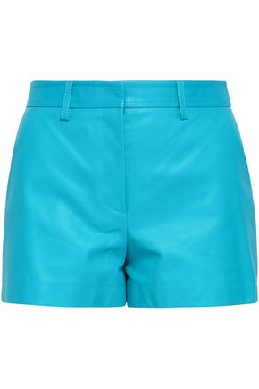 EMILIO PUCCI Leather shorts