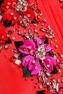 EMILIO PUCCI Embellished silk crepe de chine kaftan