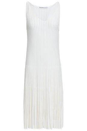 GENTRYPORTOFINO Pleated knitted dress