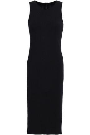 GENTRYPORTOFINO Stretch-silk dress