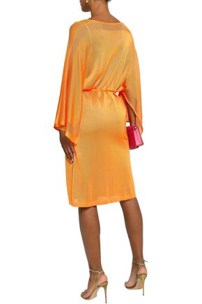 EMILIO PUCCI Cutout knitted dress