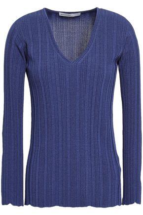 GENTRYPORTOFINO Ribbed-knit top