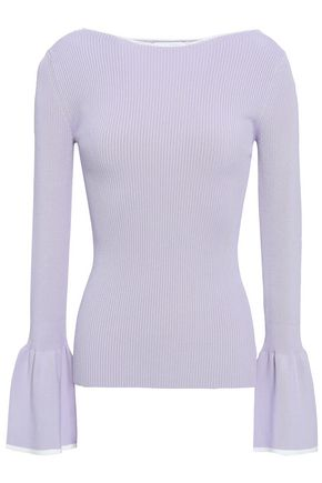 SANDRO Ribbed-knit sweater