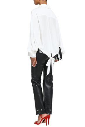 AMANDA WAKELEY Silk crepe de chine shirt