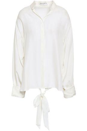 AMANDA WAKELEY Silk crepe de chine shirt