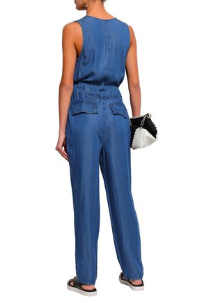 DKNY Belted chambray jumpsuit