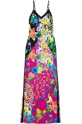 ETRO Floral-print crepe de chine maxi dress