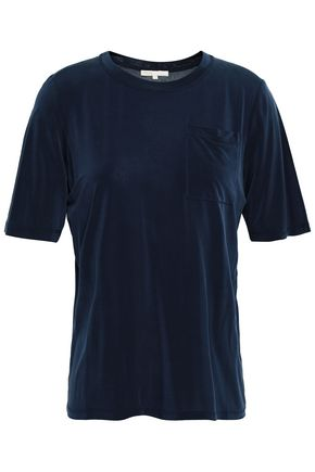 MAJE Washed-jersey T-shirt