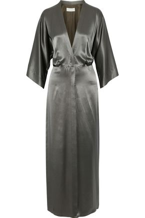 MICHELLE MASON Silk-charmeuse maxi dress