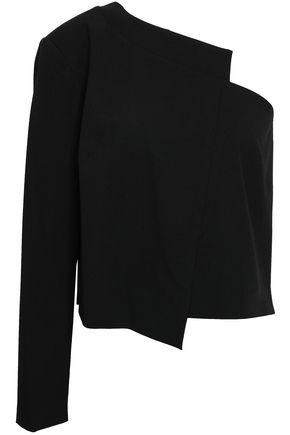 MICHELLE MASON One-shoulder woven top