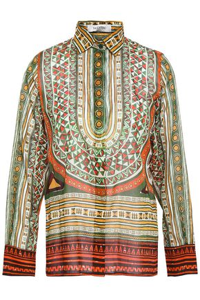 VALENTINO Printed cotton shirt
