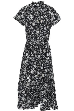 ZIMMERMANN Ruffled silk dress