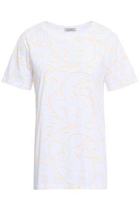 NINA RICCI Printed cotton-jersey T-shirt