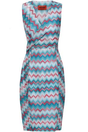 MISSONI Jacquard-knit dress