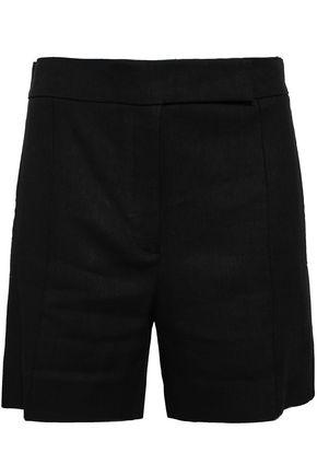 NINA RICCI Linen and wool-blend shorts