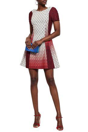 MISSONI Dégradé crochet-knit mini dress