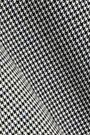 TIBI Hudson houndstooth jacquard-knit top