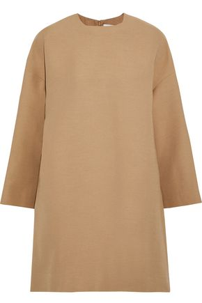VALENTINO Wool and silk-blend mini dress
