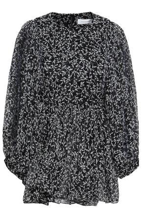 ZIMMERMANN Floral-print silk-georgette blouse