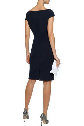 BADGLEY MISCHKA Cutout stretch-cady dress