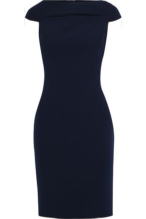 BADGLEY MISCHKA Cutout stretch-cady dress
