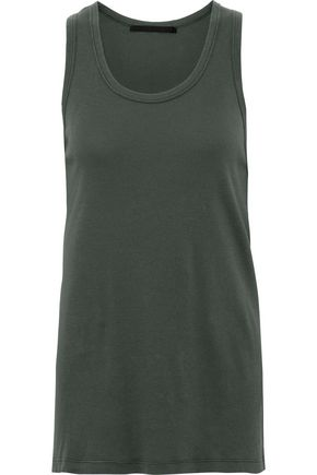 HAIDER ACKERMANN Ribbed cotton-jersey tank