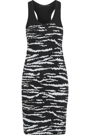 HAIDER ACKERMANN Printed cotton-jersey mini dress