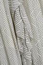 ZIMMERMANN Ruffled printed georgette midi dress