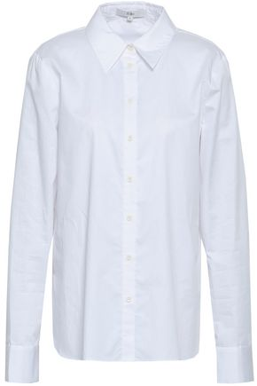 TIBI Cotton-poplin shirt