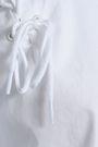 TIBI Cutout cotton-poplin top