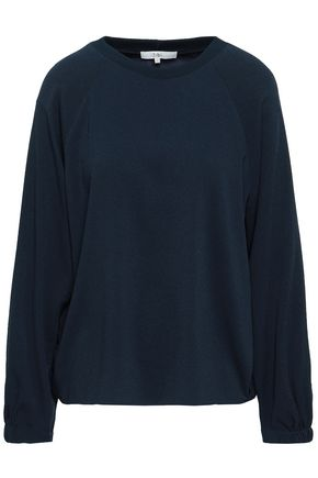 TIBI Savanna shell and crepe top