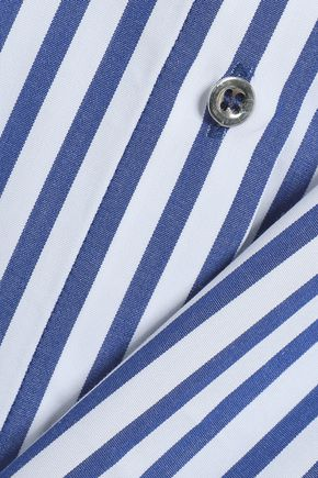 MARQUES' ALMEIDA Striped cotton-poplin shirt