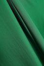 CEDRIC CHARLIER Strapless crepe de chine jumpsuit
